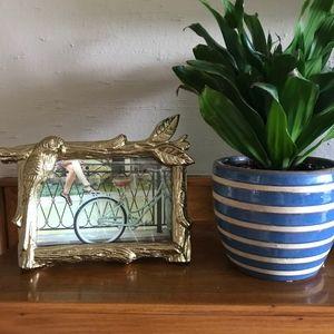 "Gold OPAL House photo frame 6x4"" NWOT"
